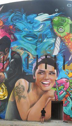 Street art | Mural by Telmo Miel [duo Telmo Pieper and Miel Krutzmann]