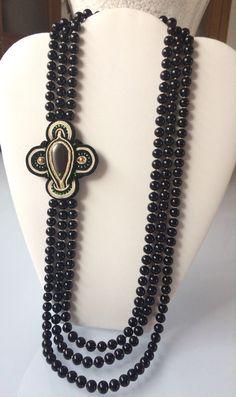 Nuevo collar bolas cristal. 29,00€