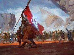 Hero of Goma Fada - Battle for Zendikar MtG Art