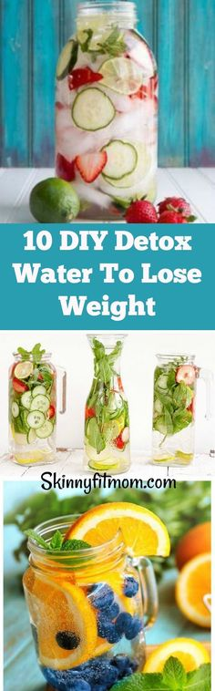 You don't want to miss the amazing health benefits of detox waters. Check out these 10 DIY Detox Water For Weight Loss And Cleansing. #detoxwater #weightwatchersrecipes #Detoxwaters #detoxwaterhealthbenefits