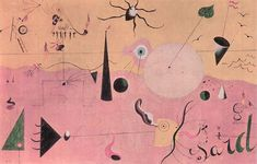 Joan Miro - The Hunter,1923-1924