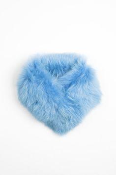 Onar HARIS Fur Collar   Aqua
