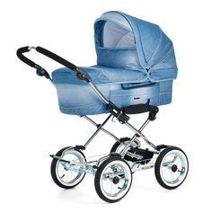 #Emmaljunga Smart Denim Blue (manufactured in Sweden) http://www.babydino.com/emmaljunga-smart-3-in-1-uk-travel-system-package-denim-blue