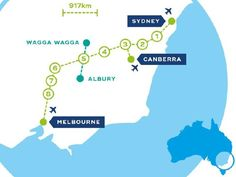 The CLARA plan. High speed rail is proposed to connect Melbourne, Canberra and Sydney via regional hubs.