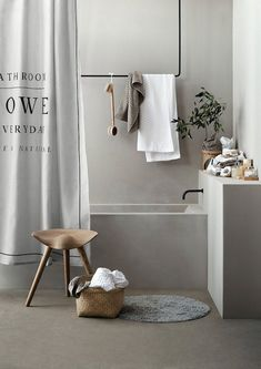 Bathroom my scandinavian home: A Swedish home in greige (with some fab pieces) Bad Inspiration, Bathroom Inspiration, Interior Inspiration, Bathroom Ideas, Bathroom Styling, Bathroom Designs, Bathroom Renovations, Shower Ideas, Diy Interior