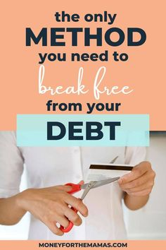 Are you trying to get out of debt? If so then you need to know the top two debt payoff strategies! We'll go over the debt snowball method and the debt avalanche method, and tell you which method is best for your situation! Here's how to get out of debt with the best strategy for you! #debtpayoff #howtogetoutofdebt #debtsnowball #debtavalanche #getoutofdebt #moneyforthemamas