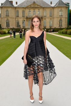 celebstarlets:  7/7/14 - Emma Watson at the Christian Dior Haute Couture F/W 14/15 Fashion Show in Paris.  xx