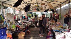 Explorado Kindermuseum veranstaltet einen Kinderflohmarkt im Duisburger Innenhafen