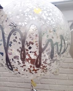 Mrs. Wedding balloon
