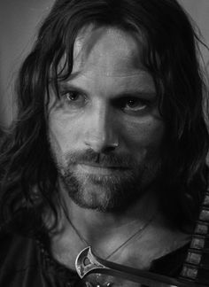 Aragorn, son of Arathorn (otherwise known as Viggo Mortensen) Lord Of Rings, Fellowship Of The Ring, O Hobbit, The Hobbit Movies, Aragorn Lotr, Arwen, Viggo Mortensen Aragorn, Film Trilogies, Middle Earth
