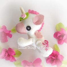 Unicornio PDF costura patrón-DIY-Flying por LittleThingsToShare