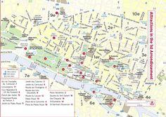 Paris Map Teaching Ideas Paris Pinterest Paris Map France - Paris things to do map