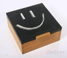 pudełko cherbatnik szkatułka prezent dla niej żony dzień kobiet ręcznie robiony decoupage rocznica kuchnia farba tablicowa