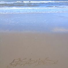 Essas #jenaaminhetzand #yournameinthesand send in  your request and receive a free picture from #Texel