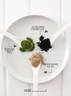 DIY Pore Minimizing Face Mask made from just 3 all-natural ingredients! – activa… DIY Pore Minimizing Face Mask made from just 3 all-natural ingredients! – activated charcoal, matcha green tea, and bentonite clay – Argile Bentonite, Bentonite Clay, Diy Cosmetic, Homemade Face Masks, Matcha Green Tea, Green Teas, Beauty Recipe, Belleza Natural, Diy Skin Care