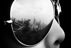 cool cityscapes reflection - Reality is truly the reflection of our own personality.