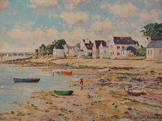 artnet Galleries: Seaside Village by Yetvart Kaprielian from Gallery Sam