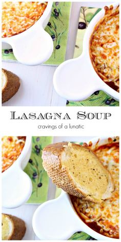 Lasagna Soup | cravingsofalunatic.com | A simple and incredibly tasty recipe to make Lasagna Soup. This recipe is a staple in our house for the cold winter weather.