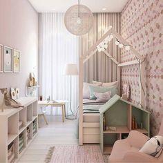O quarto da menina ➡via @julianapiresinteriores *autor do projeto -[desconhecido ]