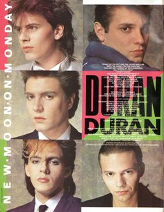 DURAN DURAN, New Moon On Monday, 1984