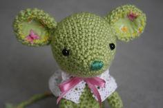 lilleliis.blogspot.com: väike amigurumi hiireke