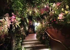 Mayfair flower show Sketch lounge interior in London, UK