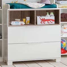 Commode b b on pinterest lit junior chest of drawers and armoire enfant - Commode blanche bebe ...