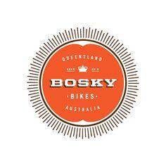 Graphic Design - Graphic Design Ideas - Bosky logo: Bike Shop Logo Graphic Design Ideas : – Picture : – Description Bosky logo: Bike Shop Logo -Read More – Typography Logo, Logo Branding, Lettering, Typography Inspiration, Graphic Design Inspiration, Badges, Seal Logo, Graphic Design Typography, Identity Design