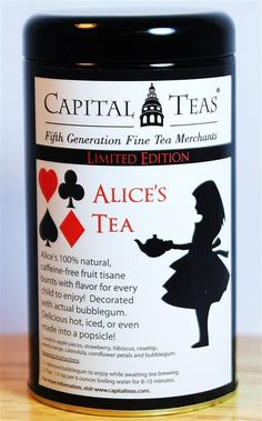 Alice's Tea (Bubble Gum)  | Fruit Tisanes | perfect for children
