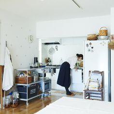 家事動線を意識した、柳沢小実さんのキッチン収納アイデア - 北欧、暮らしの道具店