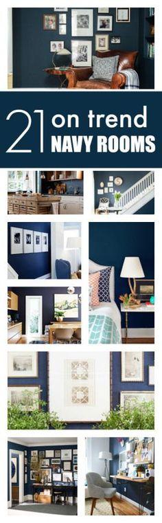 2016 Design Forecast - Navy Rooms