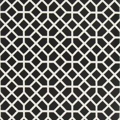 trissino - noir wallpaper | Designers Guild