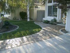 Low Maintenance Front Garden Ideas Driveways Paths