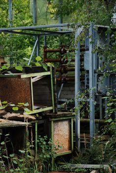 industrial fallow area.  Lost Place Urban Exploration https://www.facebook.com/ForgottenHideaways Copyright by ForgottenHideaways