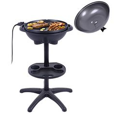 Shop for Costway Electric BBQ Grill Non-stick 4 Temperature Setting Outdoor Garden Camping. Get free delivery On EVERYTHING* Overstock - Your Online Garden & Patio Store! Best Electric Grill, Electric Grills, Cooking Stores, Best Charcoal Grill, Grill Time, Grill Plate, Kitchen Must Haves, Indoor Outdoor, Outdoor Decor