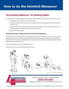 Heimlich Maneuver and Parkinson's Disease #parkinsons #homecare