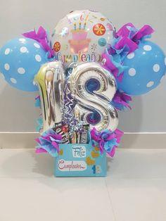 Balloon Flowers, Balloon Bouquet, Balloon Arch, Balloon Centerpieces, Balloon Decorations, Birthday Party Decorations, Eid Mehndi Designs, Themed Gift Baskets, Balloon Gift