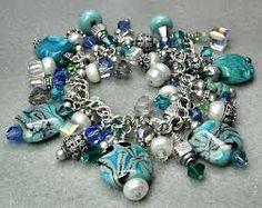 blue and silver..