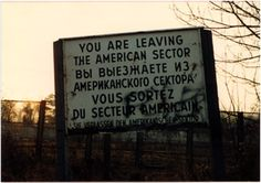 Some photos I took between 1985 - 1987 while I was assigned to the US Army's Berlin Brigade in West Berlin, Germany.