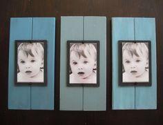 Scrap wood picture frames