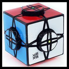 MOYU Wheel of Time Black Rubik's Puzzles Magic Speed Cube Puzzle Twist Rubik's