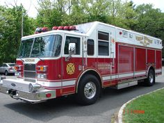 Mendham Fire Department - 1885: Pierce Heavy Rescue