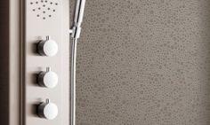 Tarkett omogen Aquarelle Wall HFS-12 Lilacs, Flooring, Wall, Design, Lilac, Syringa Vulgaris, Wood Flooring, Walls