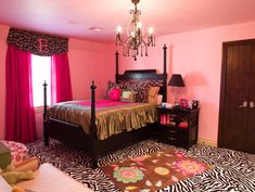 Teen Girl Bedroom Drapes Design, Pictures, Remodel, Decor and Ideas - page 2
