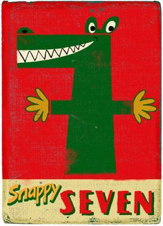 Snappy Seven by Paul Thurlby, via Flickr