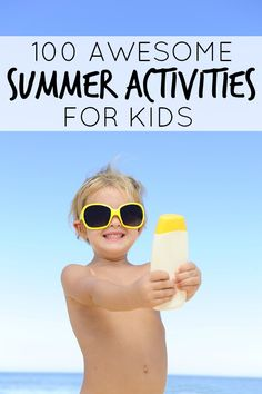 Fun ideas for summer!
