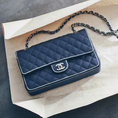 Handle with care. #Chanel
