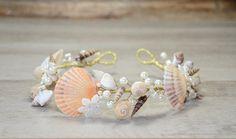 Meerjungfrau Haar Accessoire Strand Hochzeit Krone von PrettyNatali