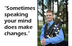 #Quotes: Bagpipe piper Kyle Banta on news that the City of #Vancouver would not ban buskers from playing bagpipes, drums, bongos and tambourines.