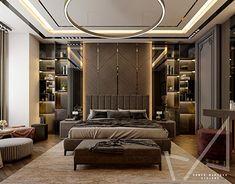 Bedroom Pop Design, Luxury Bedroom Design, Master Bedroom Interior, Modern Master Bedroom, Bedroom Furniture Design, Home Room Design, Interior Design, Modern Luxury Bedroom, Luxurious Bedrooms